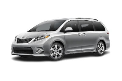 Toyota Sienna to rent